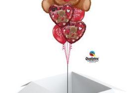 Poczta balonowa - miś