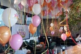 Gustowne balony z helem na urodziny