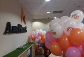 Balony z okazji 1000 restauracji AmRest