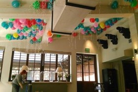 balony na suficie