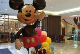 Balony w kształcie myszki mickey