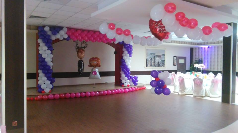 balony na eventy Warszawa, Wrocław i inne miasta