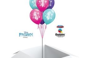 Poczta balonowa - frozen
