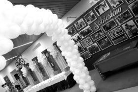 Dekoracje z balonów napełnianych helem