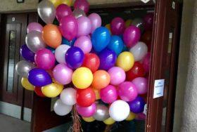 Piękny bukiet balonów z helem z dostawą