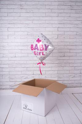 Balony z helem niespodzianka balonowa