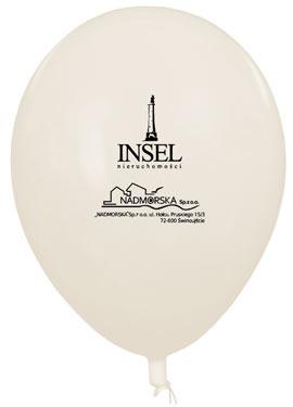 Balon z logotypem firmy INSEL