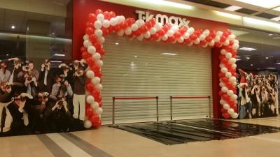 Brama balonowa dla TK Max