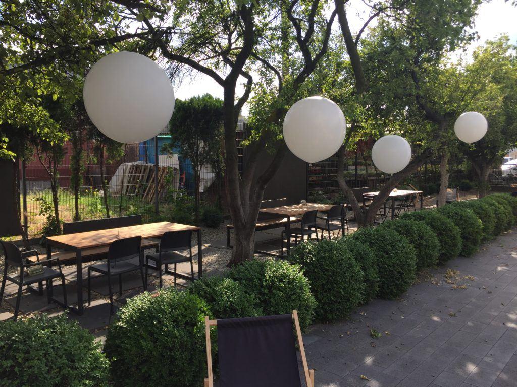 Impreza Jubileuszowa - dekoracja z balonów