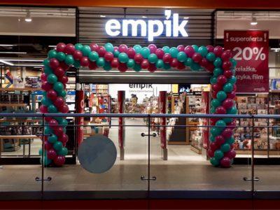 Brama balonowa Empik