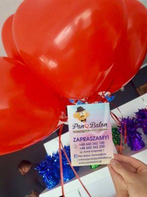 Balony na eventy Wrocław, Warszawa, Świnoujście