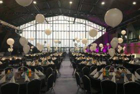Balony dekorujące Salę bankietową