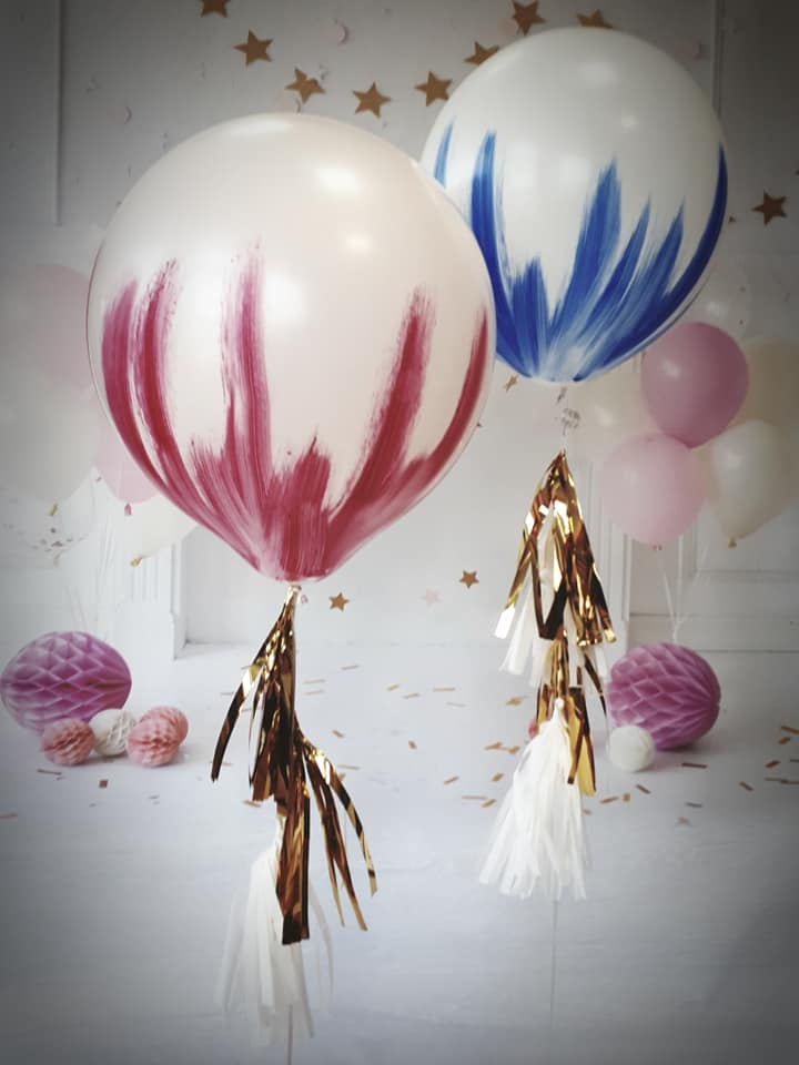 Ręcznie malowane balony