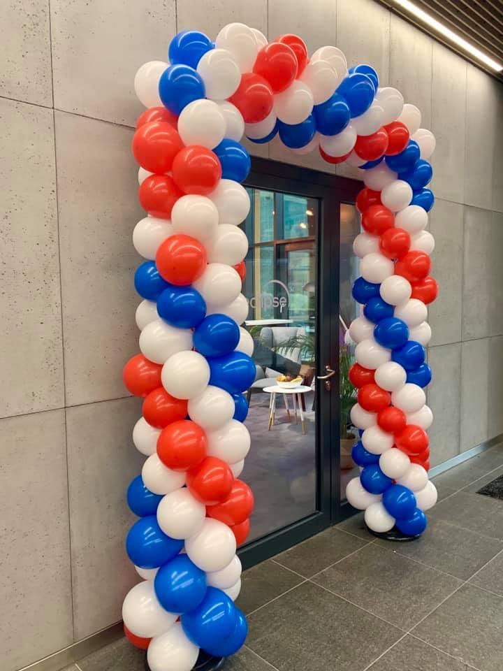 Przygotowanie bramy balonowej - Wrocław