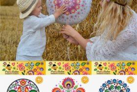 Balony Folk – nowość w Manufakturze Pana Balona