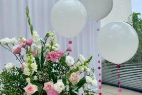 Piękna weselna dekoracja od Pana Balona