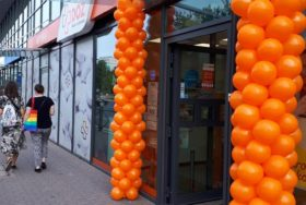 Balony na otwarcie nowej apteki DOZ we Wrocławiu