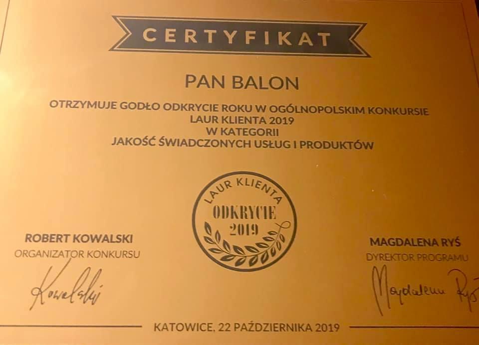 Balony Wrocław - zdjecie 71936347_2484998428235159_1242848657972133888_n