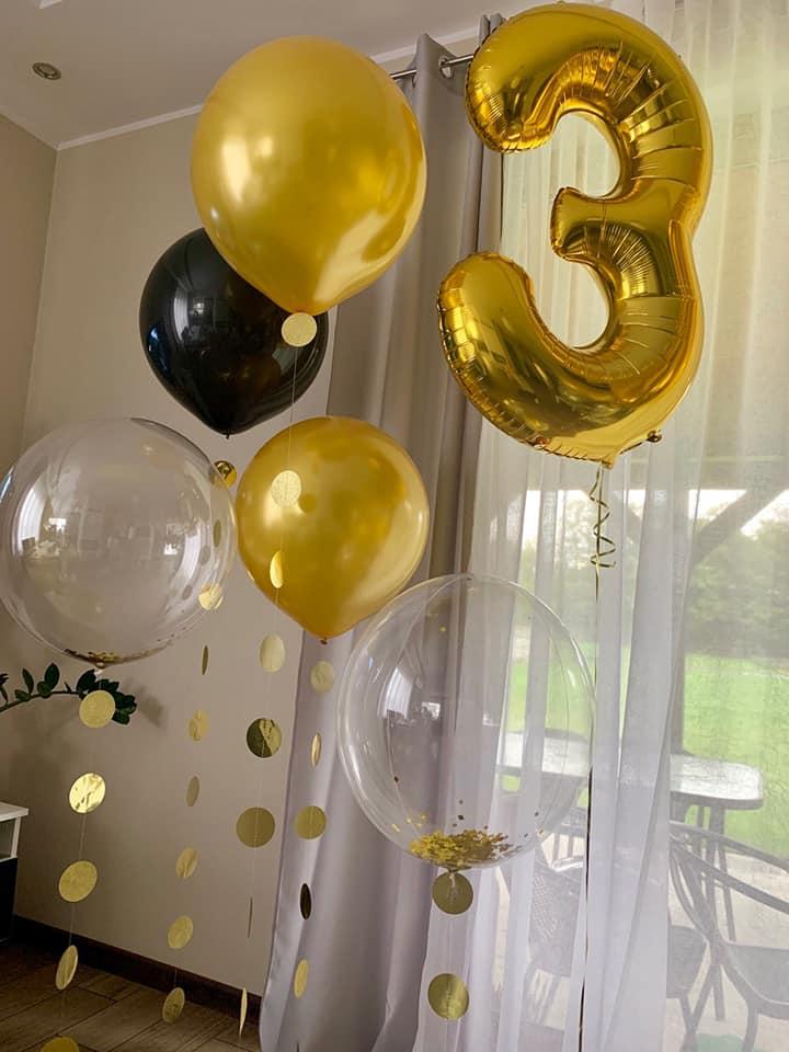 Balony Wrocław - zdjecie balony-cyfry-na-urodziny-1