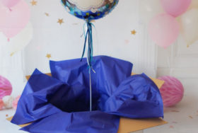 Balony i nasza balonowa poczta na Dzień Kobiet