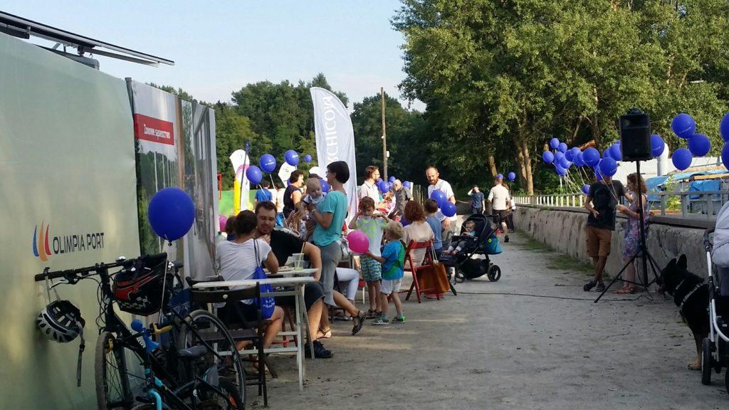 Balony Wrocław - zdjecie Event z balonami dla firmy Archicom