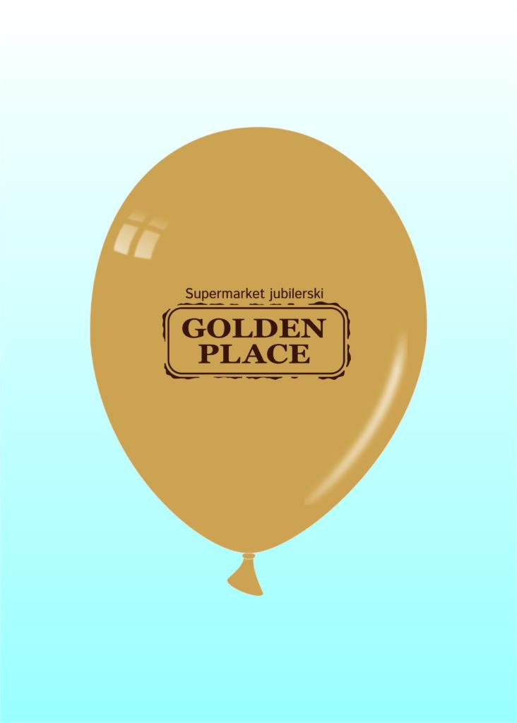 Balony Wrocław - zdjecie balon-zĹ'oty-—-kopia
