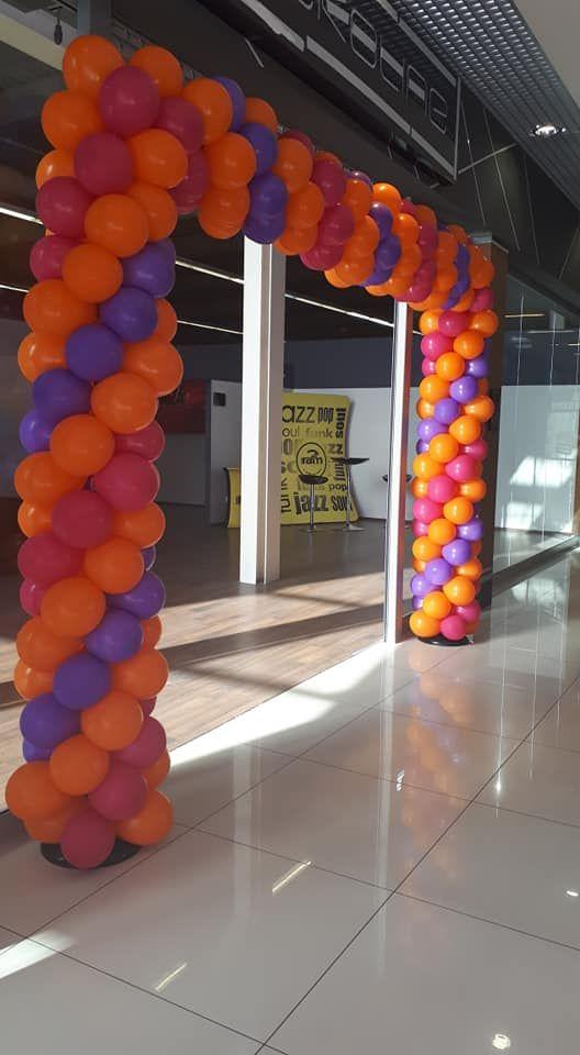 Balony Wrocław - zdjecie Brama-balonowa-dekoracje-3