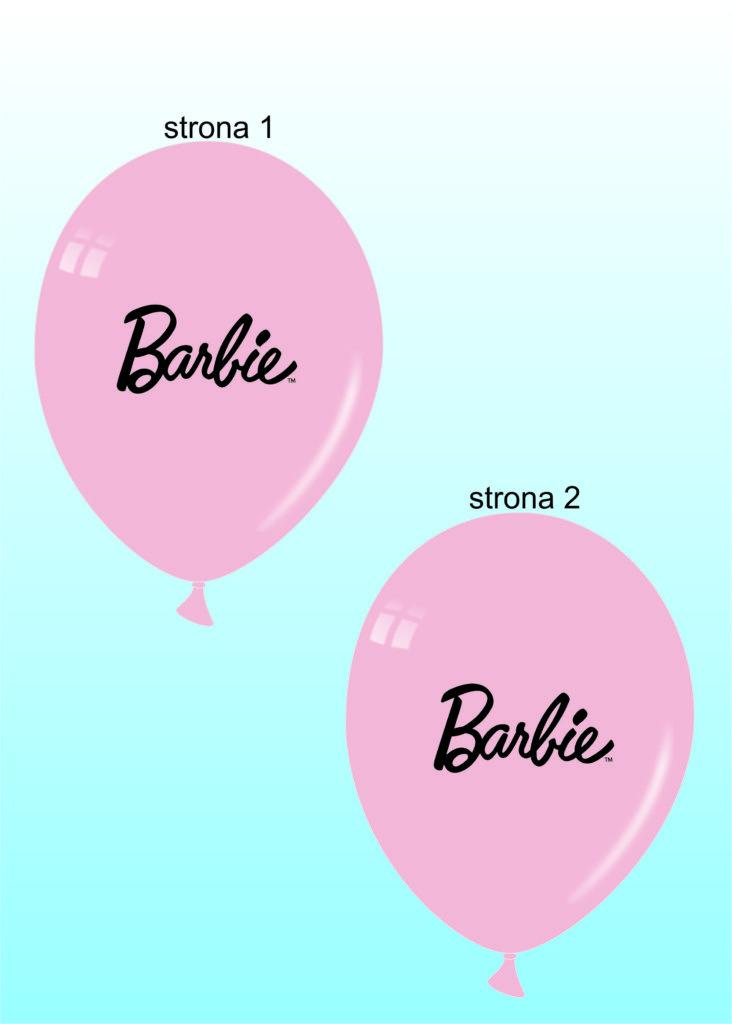 Balony Wrocław - zdjecie Wizualizacja-barbie