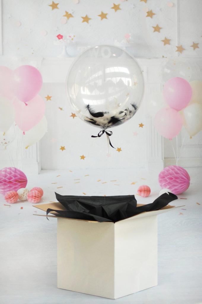 Balony Wrocław - zdjecie czarno-na-biaĹ'ym