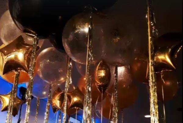 Balony Wrocław - zdjecie balony-czarne-zlote