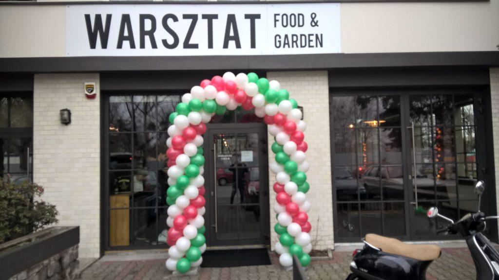 Balony Wrocław - zdjecie brama-balonowa