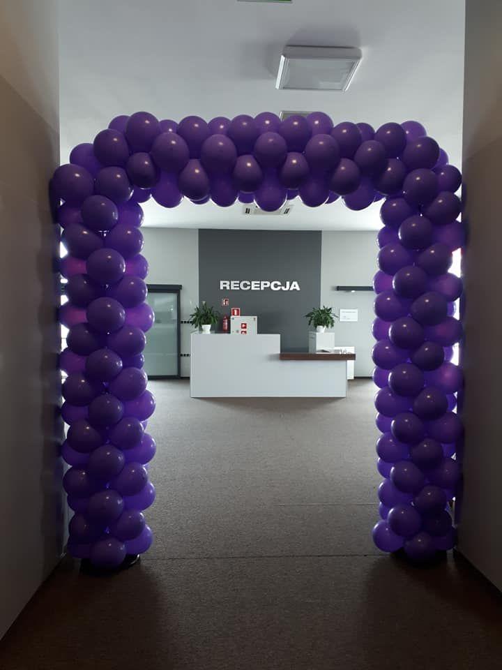 Balony Wrocław - zdjecie brama-balonowa-recepcja-15