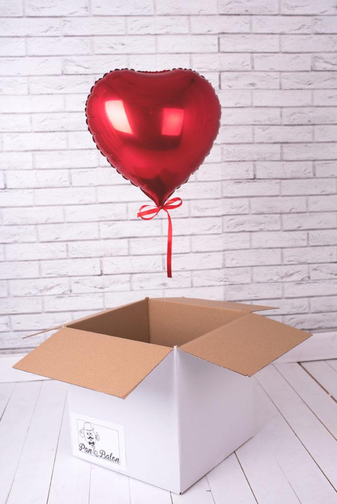Balony Wrocław - zdjecie czerwone-serce