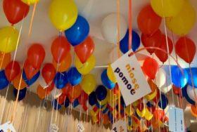 Piękna realizacja od Pana Balona dla NIOSĘ POMOC we Wrocławiu.