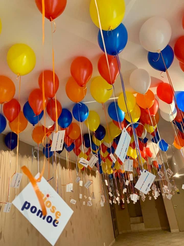 Balony Wrocław - zdjecie dekoracje-balonowe-dla-niose-pomooc-we-wroclawiu-7