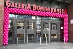 Brama balonowa w Galerii Dominikańskiej we Wrocławiu
