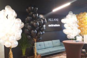Balonowe dekoracje na event – realizacja
