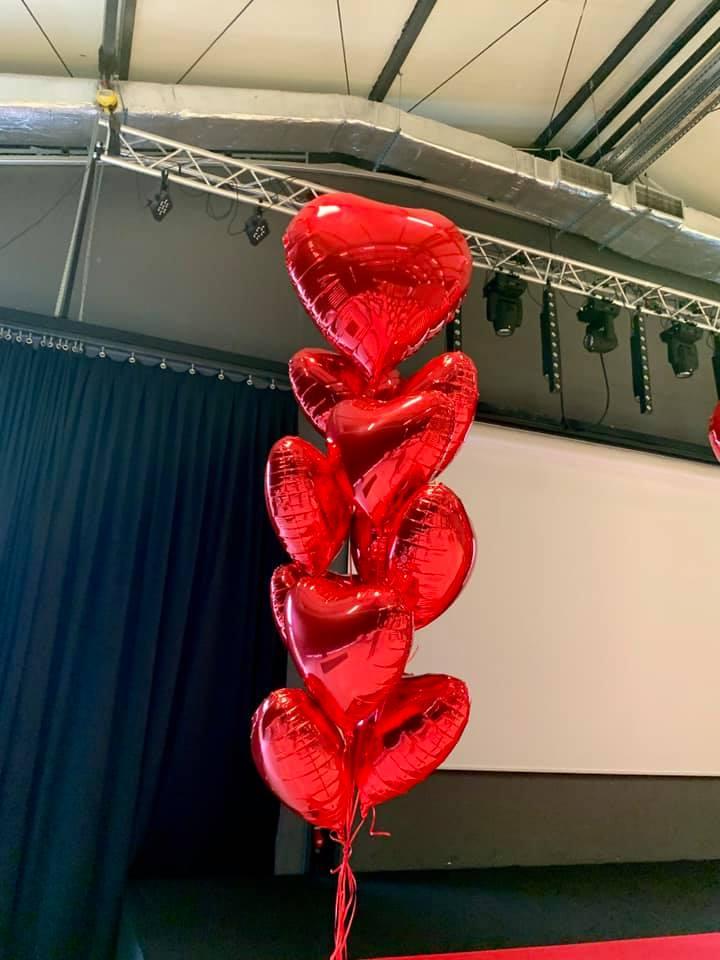 Balony Wrocław - zdjecie dekoracje-balonowe-walentynki-2