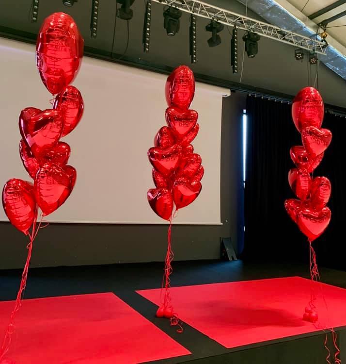 Balony Wrocław - zdjecie dekoracje-balonowe-walentynki-3
