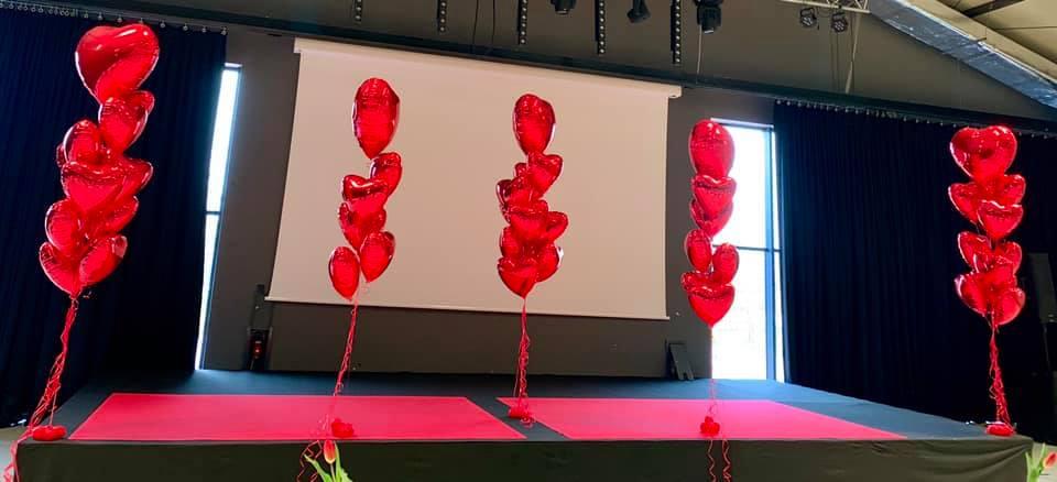 Balony Wrocław - zdjecie dekoracje-balonowe-walentynki-4
