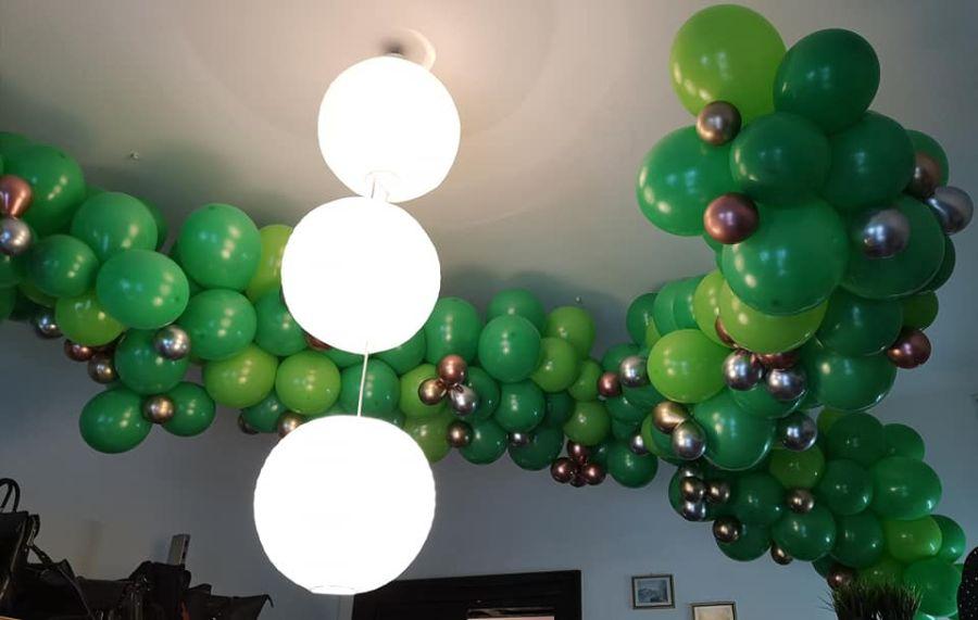 Balony Wrocław - zdjecie organiczne-dekoracje-z-balonow-1