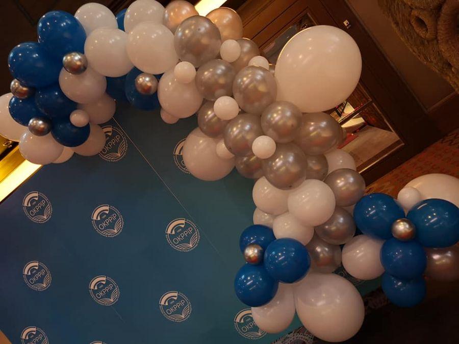 Balony Wrocław - zdjecie organiczne-dekoracje-z-balonow-3