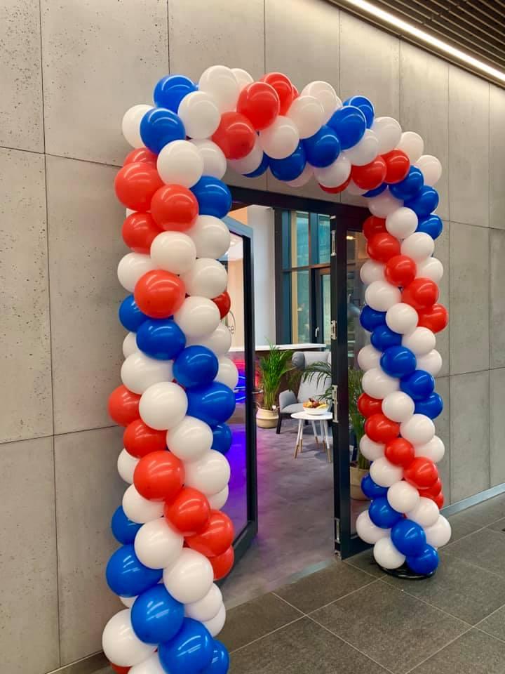 Balony Wrocław - zdjecie realizacja-bramy-balonowej-wroclaw-1
