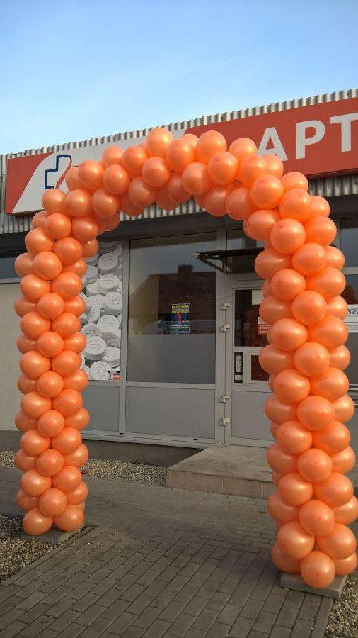 Balony Wrocław - zdjecie realizacje-z-uzyciem-balonow-184