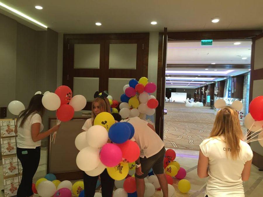 Balony Wrocław - zdjecie realizacje-z-uzyciem-balonow-29