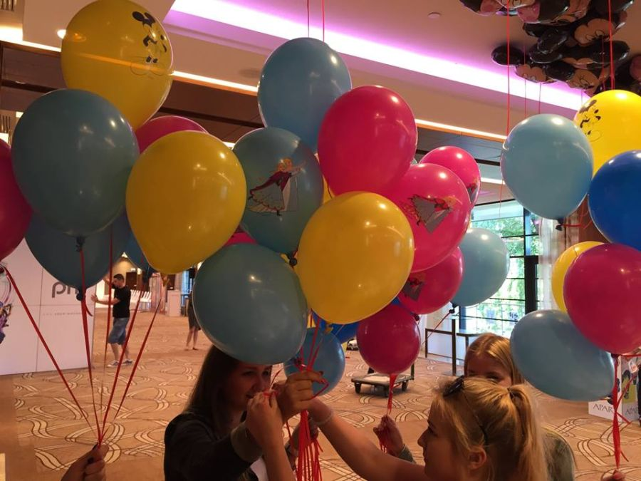 Balony Wrocław - zdjecie realizacje-z-uzyciem-balonow-38