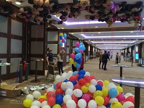 Balony Wrocław - zdjecie realizacje-z-uzyciem-balonow-41