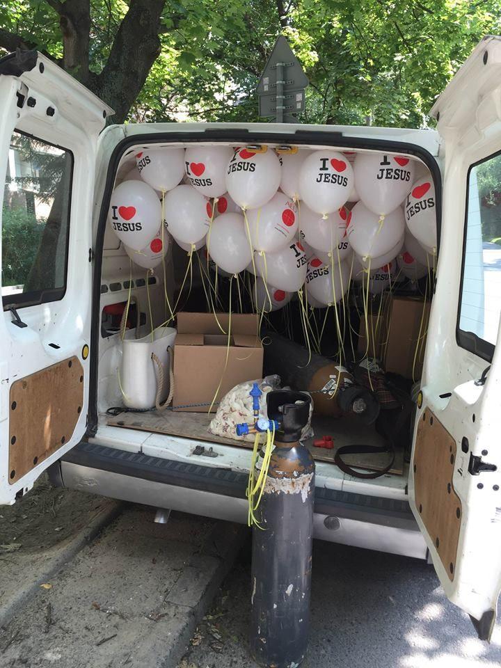 Balony Wrocław - zdjecie realizacje-z-uzyciem-balonow-58