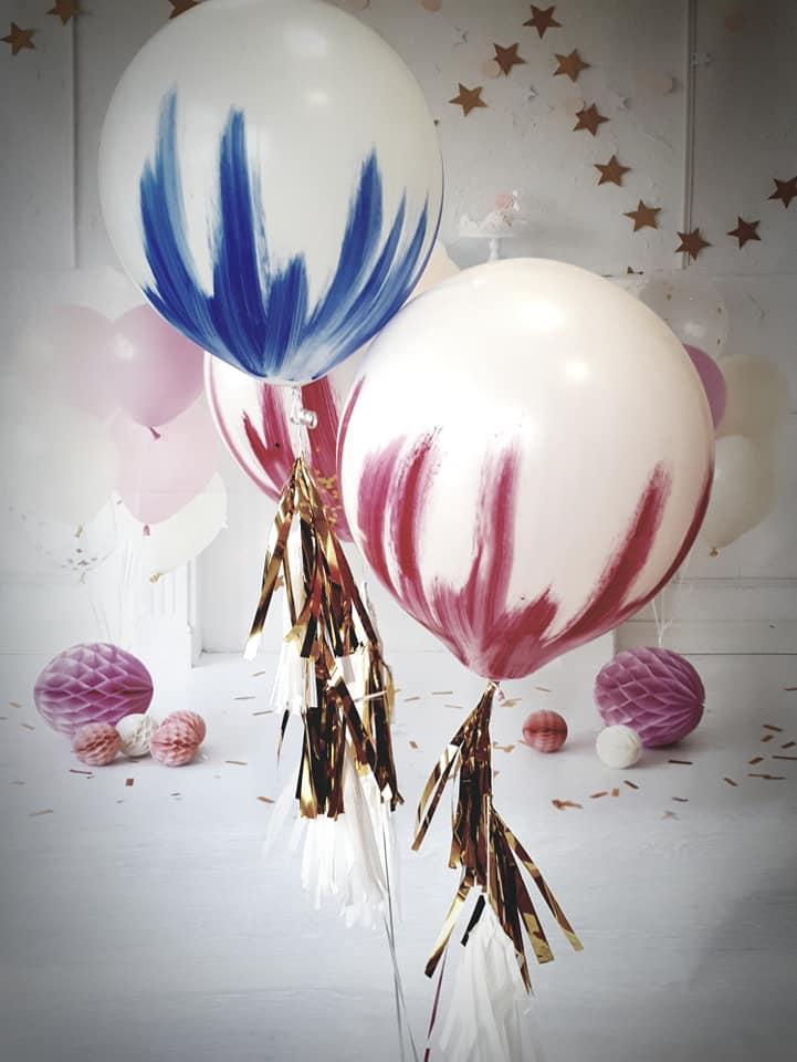 Balony Wrocław - zdjecie recznie-malowane-balony