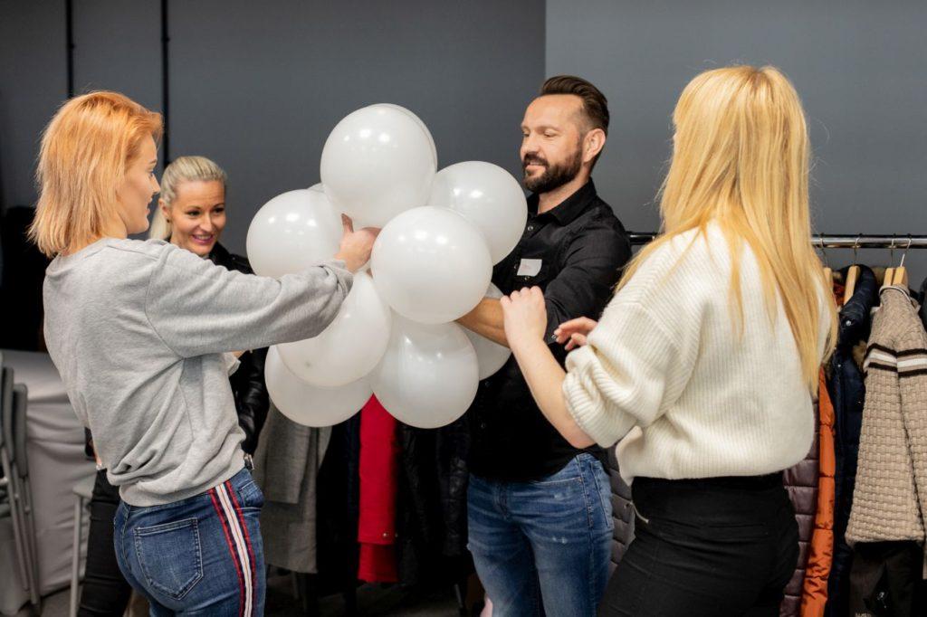 Balony Wrocław - zdjecie szkolenia-dekoracje-balonowe-wroclaw-10